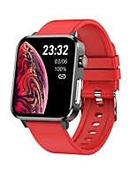 cheap -ET5 Smartwatch for Android iOS Bluetooth Sports Tracker Support Heart Rate Monitor Blood Pressure Measurement Calories Burned Timer Pedometer Call Reminder Sleep Tracker