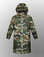 cheap -Women's Men's Rain Poncho Rain Jacket Scandinavian Raincoats Autumn / Fall Winter Spring Summer Outdoor Camo / Camouflage Quick Dry Lightweight Breathable Sweat wicking Poncho Top Hunting Fishing