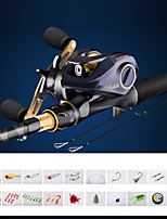 cheap -Fishing Rod and Reel Combo Casting Rod 180/210/240/270/300/360 cm Carbon Fiber Lightweight Freshwater and Saltwater Sea Fishing