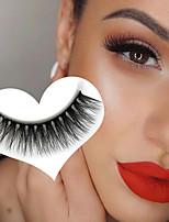 cheap -3D Natural Thick False Eyelashes 3DH-13 Thick False Eyelashes Simulation Eyelashes 5 Pairs of False Eyelashes