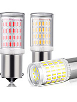 cheap -YoBis Car Modification Led Turn Signal 1156-3014-80 Highlight Brake Light Dc12v Decoding Canbus
