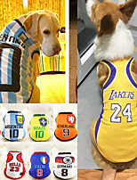 cheap -Dog Cat Vest Elegant Adorable Cute Dailywear Casual / Daily Dog Clothes Puppy Clothes Dog Outfits Breathable Light Yellow White / Red Wine Red Costume for Girl and Boy Dog Polyester XS S M L XL XXL