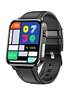 cheap -E86 Unisex Smartwatch Bluetooth Heart Rate Monitor Blood Pressure Measurement Calories Burned Thermometer Health Care ECG+PPG Pedometer Call Reminder Activity Tracker Sleep Tracker