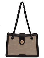 cheap -Women's Bags PU Leather Crossbody Bag Zipper Daily Chain Bag Black Blushing Pink Khaki Beige