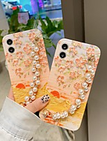 cheap -Phone Case For Apple Back Cover iPhone 12 Pro Max 11 SE 2020 X XR XS Max 8 7 Shockproof Dustproof Graphic Scenery Flower TPU