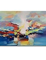cheap -Oil Painting Handmade Hand Painted Wall Art modern Craft paintingblue Abstract Seascape Home Decoration Dcor Rolled Canvas No Frame Unstretched