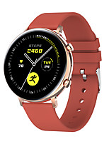 cheap -GW33 Smartwatch Fitness Watch Bluetooth IP68 Waterproof Touch Screen Heart Rate Monitor ECG+PPG Pedometer Call Reminder 44mm Watch Case for Android iOS Men Women / Blood Pressure Measurement / Sports