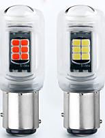 cheap -YoBis Car Led Light 1156/1157 Car Brake Light 3030 16 Tail Light Turn Signal Flashing Full Light