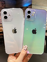 cheap -Phone Case For Apple Back Cover iPhone 12 Pro Max 11 SE 2020 X XR XS Max 8 7 Shockproof Dustproof Color Gradient TPU