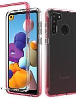 cheap -Phone Case For Samsung Galaxy Bumper Galaxy A12 A20 A30 Samsung Galaxy A50 Galaxy A11 Galaxy A21 Galaxy A01 A71 5G Galaxy A10e A51 5G Shockproof Dustproof Color Gradient TPU
