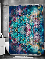cheap -Waterproof Fabric Shower Curtain Bathroom Decoration and Modern and Bohemian Theme