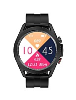 cheap -T40 Smartwatch Fitness Watch for Android iOS 1.3 inch Screen IP 67 Heart Rate Monitor Blood Pressure Measurement Body Temperature Test ECG+PPG Pedometer Call Reminder Men Women / Sleep Tracker