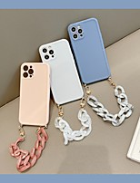 cheap -Phone Case For Apple Back Cover iPhone 12 Pro Max 11 SE 2020 X XR XS Max 8 7 Shockproof Dustproof Solid Colored TPU