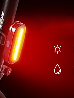 cheap -LED Bike Light Rear Bike Tail Light LED Bicycle Cycling Waterproof Super Bright Durable Rechargeable Li-Ion Battery 60 lm USB Camping / Hiking / Caving Everyday Use Cycling / Bike / IPX 6