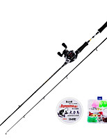 cheap -Fishing Rod and Reel Combo Casting Rod 165/180/210/240/270 cm Carbon Fiber Lightweight Freshwater and Saltwater Sea Fishing