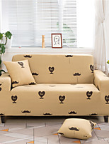 cheap -Cartoon Heart Print Dustproof All-powerful Slipcovers Stretch Sofa Cover Super Soft Fabric Couch Cover with One Free Boster Case(Chair/Love Seat/3 Seats/4 Seats)