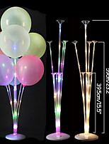 cheap -1pc Led Tubes Balloon Holder Balloons Stand Column Baby Shower Happy Birthday Decoration Party Wedding Decoration Supplies