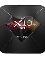 cheap -Smart TV Box Android 9.0 TV Box X10 PLUS  4K Support H.265 Cortex-A53 4GB 64GB 32GB