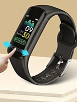 cheap -V101 Smartwatch for Android iOS Sports Tracker Support Heart Rate Monitor Blood Pressure Measurement Pedometer Call Reminder Sleep Tracker