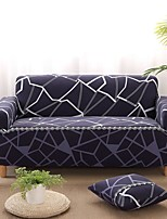 cheap -Grid Print Dustproof All-powerful Slipcovers Stretch Sofa Cover Super Soft Fabric Couch Cover with One Free Boster Case(Chair/Love Seat/3 Seats/4 Seats)