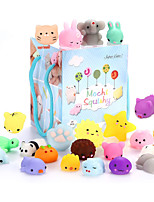 cheap -24Pcs Mochi Squishy Toys, Mochi Kawaii squishies Toys Gifts for Party Favors for Kids, Mini Supper Cute Animals Stress Relief Toys Squeeze Toys Squishy Easter Egg fillers Toy Easter Basket Stuffers