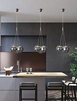 cheap -LED Pendant Light 28 cm Single Design Pendant Light Glass LED Nordic Style 110-240 V