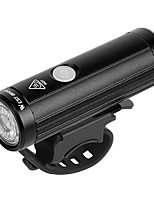 cheap -LED Bike Light Front Bike Light LED Bicycle Cycling Waterproof Super Bright Durable Rechargeable Li-Ion Battery 350 lm USB White Camping / Hiking / Caving Everyday Use Cycling / Bike - WEST BIKING®