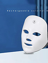 cheap -Rechargeable Led Mask Manual Touch Test Colorful Photon Skin Rejuvenation Beauty Instrument Facial Mask Instrument