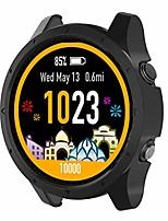 cheap -Smart watch case pc protective case for garmin forerunner 945/935, soft anti-drop pc protective case for garmin forerunner 945/935, black