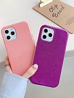 cheap -Phone Case For Apple Back Cover iPhone 12 iPhone 11 iPhone 12 Pro Max iPhone 12 Pro iphone 7/8 iPhone SE 2020 Shockproof Dustproof Glitter Shine TPU