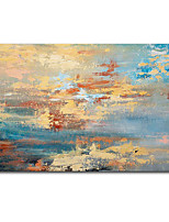 cheap -Oil Painting Handmade Hand Painted Wall Art modern craft paintingbeige abstract beach Home Decoration Dcor Rolled Canvas No Frame Unstretched