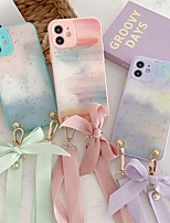 cheap -Phone Case For Apple Back Cover iPhone 12 Pro Max 11 SE 2020 X XR XS Max 8 7 Shockproof Dustproof Color Gradient Marble TPU