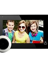 cheap -4.3 Inch Wifi Digital Peephole Doorbell 145 Degree Door Peephole Camera Viewer Outdoor Door Bell