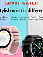 cheap -ZL02 Smartwatch Fitness Running Watch IP 67 Waterproof Heart Rate Monitor Blood Pressure Measurement Pedometer Call Reminder Sleep Tracker for Android iOS Men Women / Sports / Sedentary Reminder