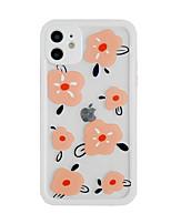 preiswerte -Telefon Hülle Handyhüllen Für Apple Rückseite iPhone 12 Pro Max 11 SE 2020 X XR XS Max 8 7 Stoßresistent Staubdicht Blume TPU