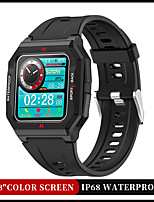 cheap -FT10 Smartwatch Fitness Watch IP68 Waterproof Heart Rate Monitor Sports Pedometer Call Reminder Sleep Tracker for Android iOS Men Women / Sedentary Reminder / Message Control