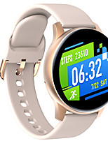 cheap -V10 Smartwatch Fitness Watch for Android iOS Bluetooth IP68 Waterproof Touch Screen Heart Rate Monitor Pedometer Call Reminder Activity Tracker Men Women / Blood Pressure Measurement / Sports