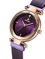 cheap -Reward women's watch flower glass mesh belt ladies watch quartz watch