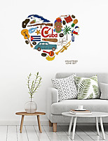 cheap -Creative Life Guitar Sticker Can Remove Personality Fashion Creative Wall Paste Living Room Sofa Background Wall