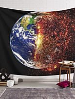 cheap -Wall Tapestry Art Decor Blanket Curtain Hanging Home Bedroom Living Room Decoration Polyester Earth Destruction