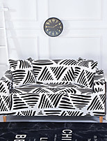cheap -Bohemian Stripes Print Dustproof All-powerful Slipcovers Stretch Sofa Cover Super Soft Fabric Couch Cover with One Free Boster Case(Chair/Love Seat/3 Seats/4 Seats)