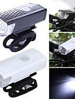 cheap -LED Bike Light LED Light Bike Glow Lights Front Bike Light LED Bicycle Cycling Waterproof Portable USB Charging Output New Design Rechargeable Li-Ion Battery 300 lm Everyday Use Cycling / Bike