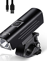 cheap -LED Bike Light Front Bike Light LED Bicycle Cycling Waterproof Super Bright Durable Rechargeable Li-Ion Battery 1300 lm USB Camping / Hiking / Caving Everyday Use Cycling / Bike / Aluminum Alloy