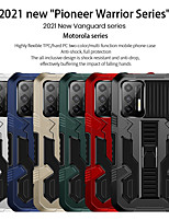 cheap -Phone Case For Motorola Back Cover Moto G9 Power MOTO G9 PLAY Moto G6 Play Moto E5 MOTO G8PLAY Moto G8 Moto G8 Power Lite Moto G8 Plus G9 Moto E6S (2020) Shockproof Dustproof with Stand Geometric