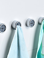 cheap -Toilet Hook Plastic Free Punch Creative Bathroom Coat and Hat Hook Household
