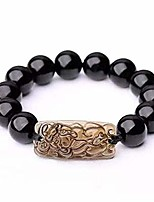 cheap -sx commerce feng shui black obsidian wealth bracelet,feng shui the best 10mm black hand carved pixiu bracelet,bracelet with obsidian pixiu pi yao attract wealth money feng shui bracelet