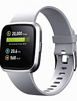 cheap -V12C Smartwatch for Android iOS IP 67 Waterproof Sports Tracker Support Heart Rate Monitor Blood Pressure Measurement Sports Long Standby Pedometer Sleep Tracker Sedentary Reminder