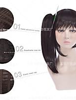 cheap -demon slayer blade chestnut flower falling channahu qi liu hai tiger mouth clip ponytail cosplay anime wig manufacturer wholesale