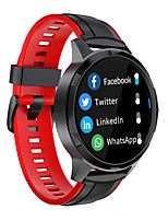 cheap -X20S Smartwatch Fitness Watch for Android iOS Bluetooth IP68 Waterproof Touch Screen Heart Rate Monitor Pedometer Call Reminder Activity Tracker Men Women / Blood Pressure Measurement / Sports