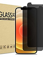 cheap -(2 pieces) procase privacy tempered glass for iphone 12 mini 5.4 inch 2020, anti-spy tempered glass privacy screen privacy film privacy screen protector